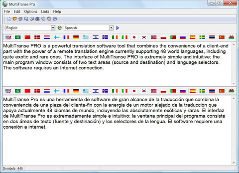 Click to view MultiTranse Pro 6.4.1 screenshot